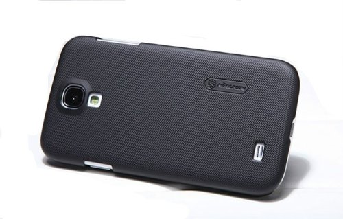 Nillkin Super Frosted Hard Back Cover Case For Samsung Galaxy S4 i9500 - Black