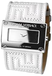 Versace Women's 71Q99D999 S001 V-Couture White/Silver Watch