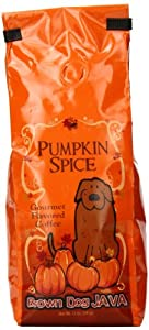 Brown Dog Java Ground Coffee, Pumpkin Spice, 12 Ounce