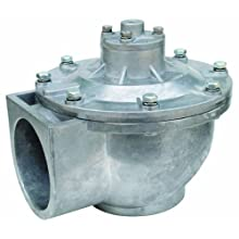 "Dwyer Series RDCV 2-1/2"" Remote Coil Diaphragm Valve, NPT Connection, Two Diaphragms, Range 4.4-124.7 psi"