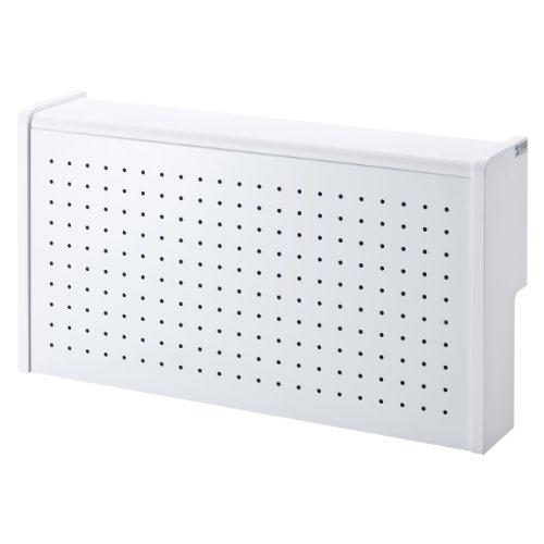 サンワサプライ ケーブル&タップ収納ボックス ホワイト CB-BOXS6W