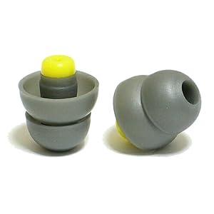 クラムワークス EPM19G-HiFi 高音質耳栓 【ライブ・コンサート・音楽用】 ソフトな音質で聴覚保護