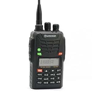 Wouxun KG-UV6D VHF/UHF 136-174/420-520 MHz Two Way Radio (Black)