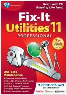 Popular Avanquest Usa Llc Fix-It Utilities 11 Professional Registry Repair Maintenance Sm Box