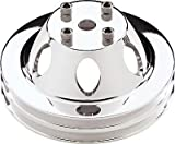 Billet Specialties 78120 SBC/BBC 2 GRV WP Pulley For LWP Polished