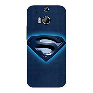 Gorgeous Blue Day Back Case Cover for HTC One M8