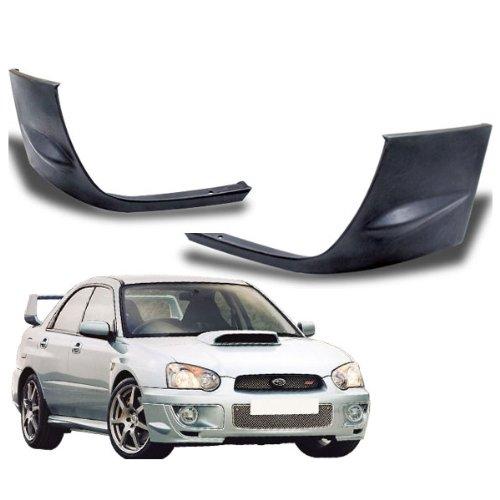 04-05 Subaru Impreza WRX STi Add-On Front Bumper Lip Poly Urethane (Sti Door Panels compare prices)