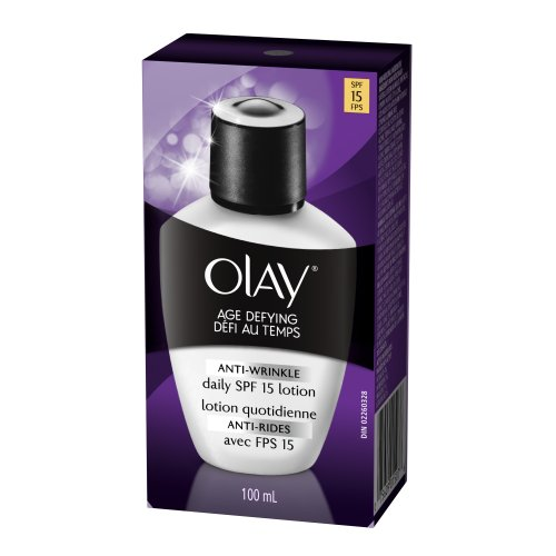 Olay Age Defying Anti-Wrinkle Day Lotion With Sunscreen Broad Spectrum SPF 15 3.4 Ounce (Pack Of 2)