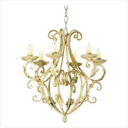 Gifts & Decor Wrought Iron Royalty'S Candleholder Chandelier front-472349