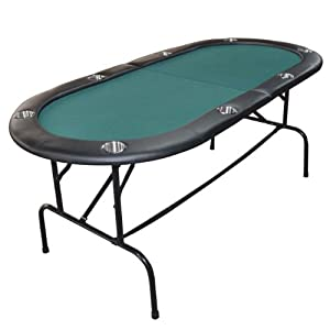 73 Deluxe Kentucky Green 8 Player Portable Casino Poker Table w  Stainless Steel Cup... by Enduro