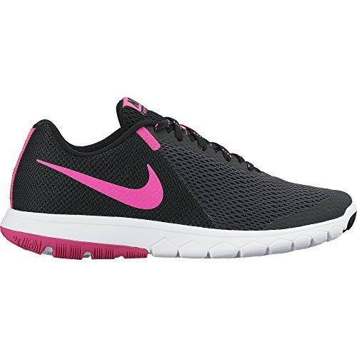 Nike Wmns Flex Experience Rn 5 Scarpe da ginnastica, Donna, Grigio (Anthracite/Pink Blast/Black/White), 38