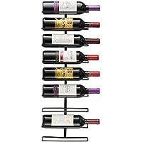Sorbus® Wall Mount Wine Rack (Holds 9 Bottles)
