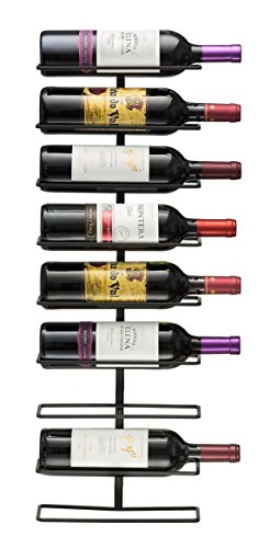 Sorbus® Wall Mount Wine Rack (Holds 9 Bottles) (9 Wine Rack compare prices)