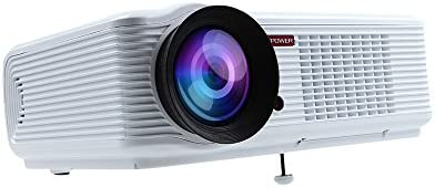 DBPOWE RHD LED-66 Home Theatre Projector 2000 Lumens Multimedia Video Projector with HDMI