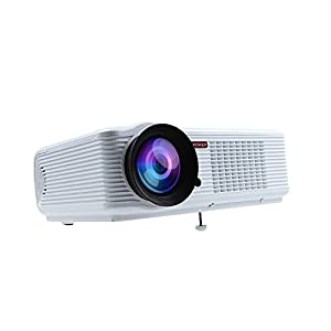 DBPOWER HD LED-66 Home Theatre Projector 2000 Lumens Multimedia Video Projector with HDMI