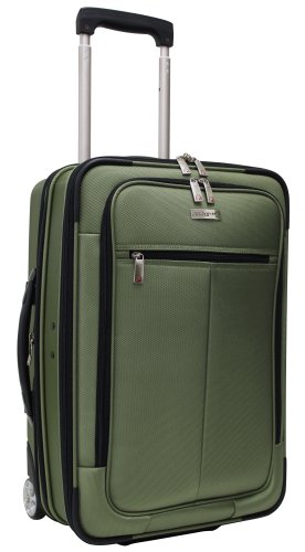 Traveler'S Choice 21-Inch Hybrid Rolling Carry-On/Garment Bag, Green Tea, One Size