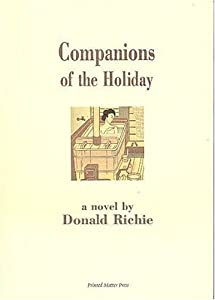 Companions of the Holiday Donald Richie, Studio Z and layout and design