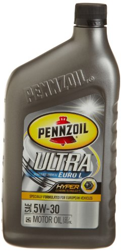 Pennzoil 550023013 6pk ultra euro l 5w 30 full synthetic for Pennzoil 5w 30 synthetic motor oil