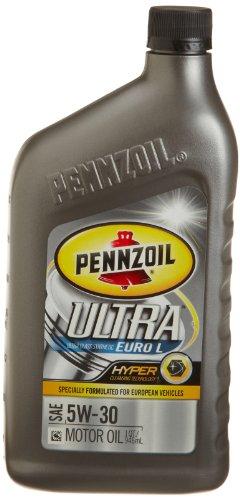 Pennzoil 550023013 ultra euro l full synthetic motor oil for Best price on synthetic motor oil