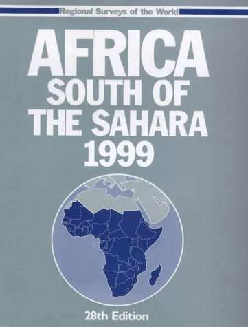 AFRICA SOUTH OF SAHARA 1999 (28th ed)