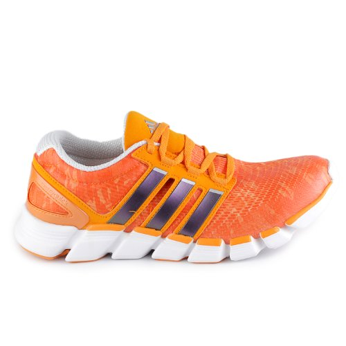 huge discount e146b a7f48 Adidas Mens Adipure Crazy Quick Running Shoes Orange White Metallic Silver  G97857 Size 10 5