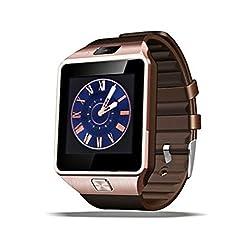 POWR DZ-09 Golden Smartwatch