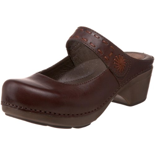 Dansko Women's Solitaire Clog,Chocolate,41 EU / 10.5-11 B(M) US