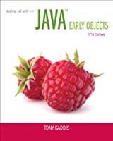 Starting Out with Java: Early Objects, 5th Edition Front Cover