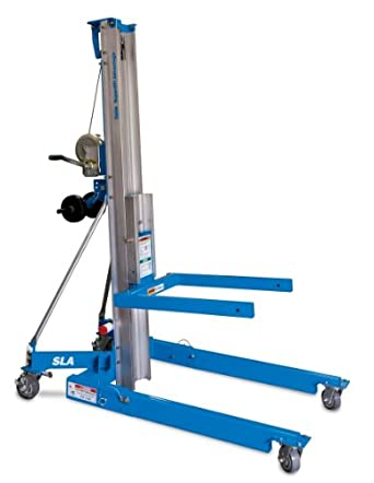 "Genie Super Lift Advantage SLA- 25, 650 lbs Load Capacity, Lift Height 26' 5"", Load & Transport with Single User"