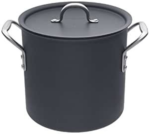 Calphalon D812 Commercial Hard Anodized 12-Quart Stockpot with Lid