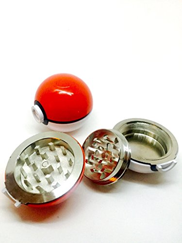 Pokemon-Poke-ball-Herb-Spice-Grinder-Aluminum-3-pc-40mm-15