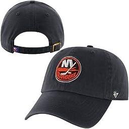 New York Islanders NHL \'47 Brand Clean Up Adjustable Hat Charcoal