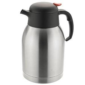 Sunnex Stainless Steel Vacuum Jug CI0005 70oz / 2ltr | Hot Beverage Jug, Thermal Jug
