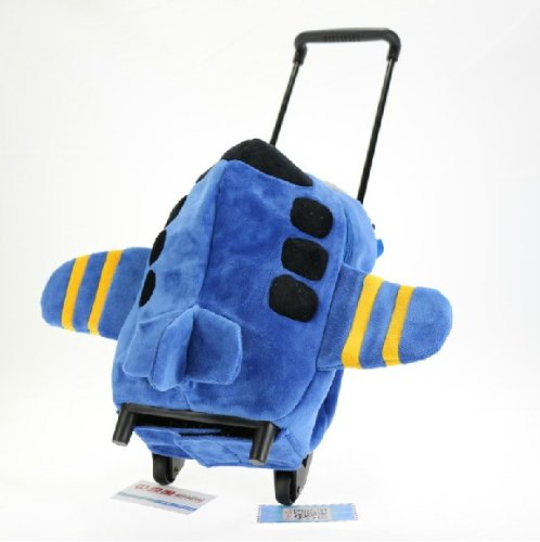 Kids Trolley Children Luggage Trolley Case-airplane