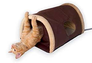 K&H Outdoor Heated Kitty Camper, Measures 14 by 20 Inches