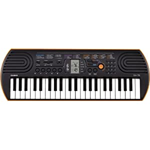 Casio SA76 for compare