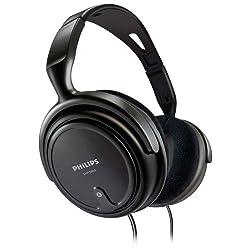 Philips Indoor SHP2000  Headphones (Black)