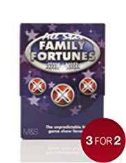 All Star Family Fortunes Game Cards