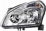 Nissan Qashqai Headlight Unit Passenger's Side Headlamp Unit 2007-2010