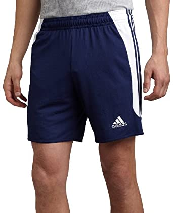 adidas Men's Nova Short (New Navy, White, Medium)