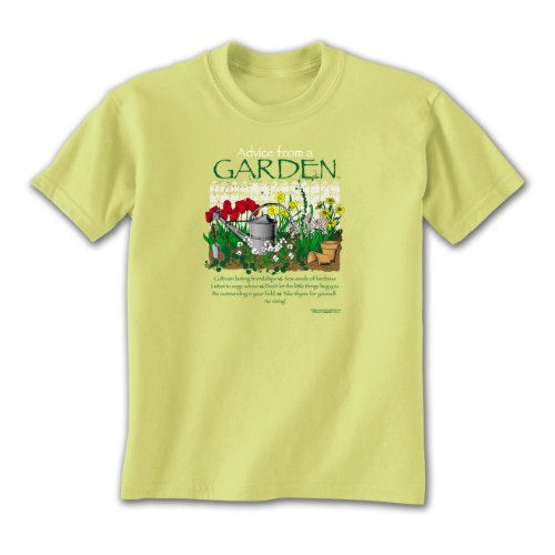 Advice From A Garden ~ Pistachio Ladies T-Shirt