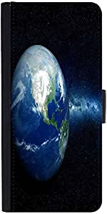 Snoogg Earth North America Graphic Snap On Hard Back Leather + Pc Flip Cover ...