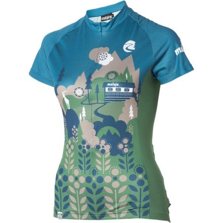 Buy Low Price Maloja ElviraM. Jersey – Short-Sleeve – Women's (B008G360WA)