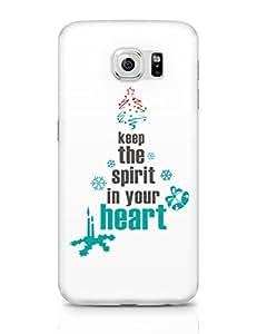 PosterGuy Happy Holidays Holidays, Festive, Festival, Christmas, Christmas Tree, Christmas Spirit, Festive Spirit, Holiday Sp Samsung Galaxy S6 Covers