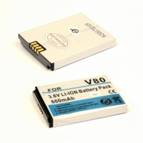 Li-Ion 600mAh kompatibel mit Motorola V80  AKMOV800600LI