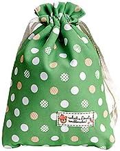 Fenchii Green Polka Dot Cloth Bag for Sony A7rA6000NEX6