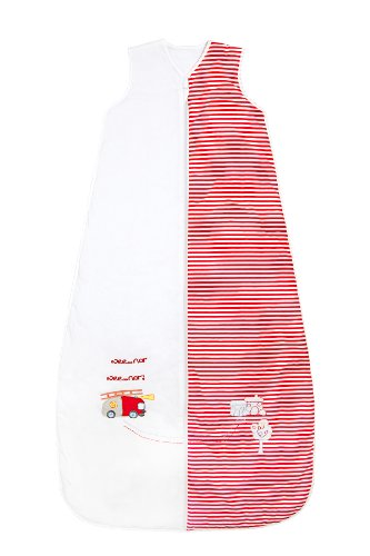 Kids Summer Sleeping Bag 1 Tog - Fire Engine, 6-10 years/59inch