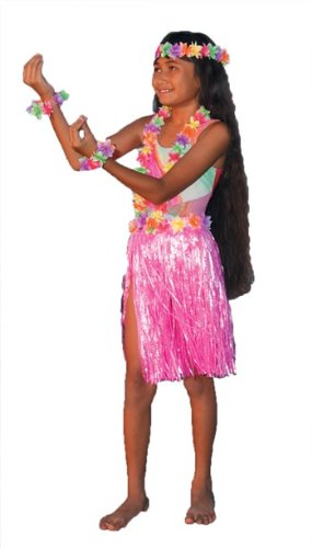Aloha Set Child Teen Costume