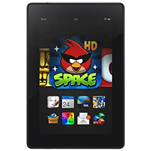 "Kindle Fire HD 7"", HD Display, Wi-Fi, 16 GB - Includes Special Offers by Amazon"