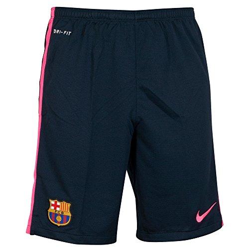 Barcelona Longer Knit Shorts 2014 / 2015 - Black/Pink